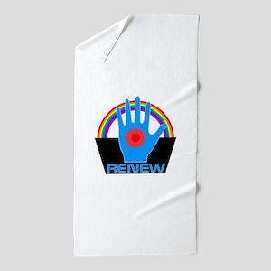 Renew - Logans Run Beach Towel