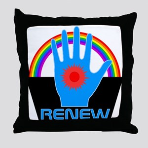 Renew - Logans Run Throw Pillow