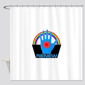 Renew - Logans Run Shower Curtain