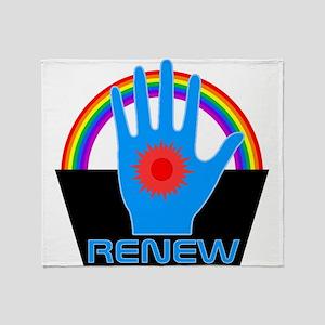 Renew - Logans Run Throw Blanket