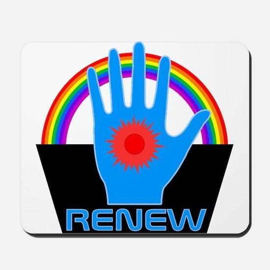 Renew - Logans Run Mousepad