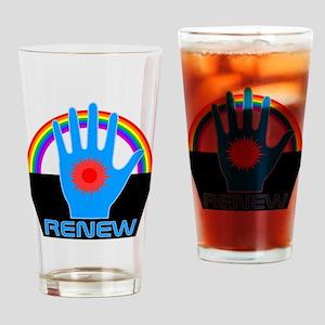 Renew - Logans Run Drinking Glass