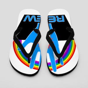 Renew - Logans Run Flip Flops