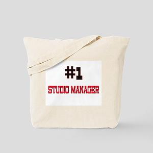 Number 1 STUDIO MANAGER Tote Bag