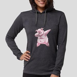 Dabbing Pig Piggy Dab Dance Long Sleeve T-Shirt