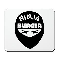 Ninja Burger Mousepad