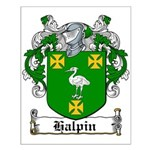 Halpin Coat of Arms Small Poster