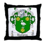 Halpin Coat of Arms Throw Pillow