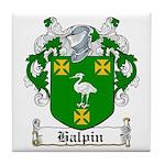 Halpin Coat of Arms Tile Coaster