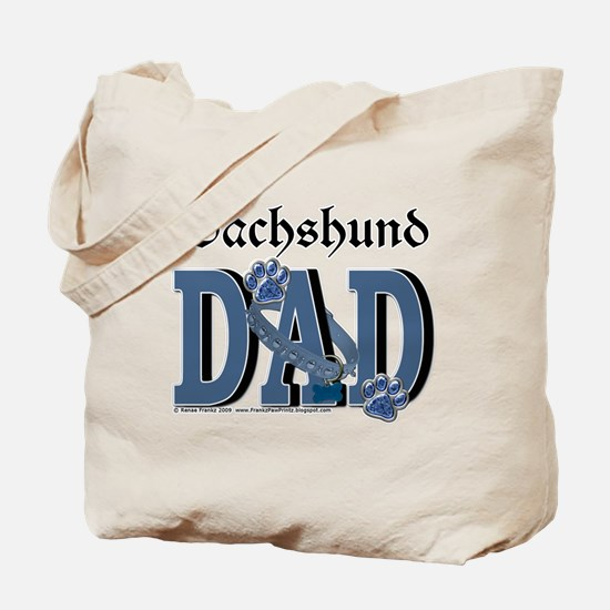 Dachshund DAD Tote Bag