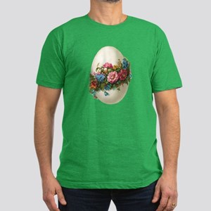HAPPY EASTER! Men's Fitted T-Shirt (dark)