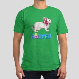 THE EASTER BUNNY Men's Fitted T-Shirt (dark)