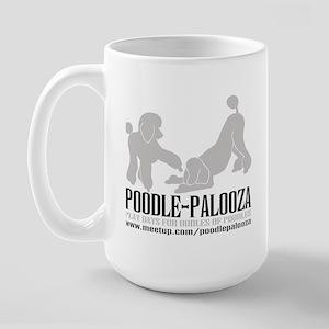 POODLE PALOOZA Large Mug