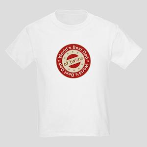 Two Sides Printed Design Kids Light T-Shirt