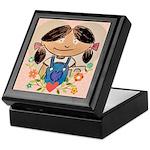 Treasure Mahogany - Molly Keepsake Box