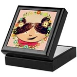 Treasure Mahogany - Fern Keepsake Box