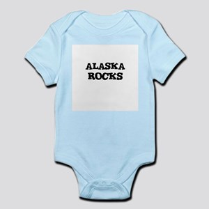 ALASKA  ROCKS Infant Creeper