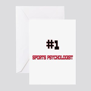Number 1 SPORTS PSYCHOLOGIST Greeting Cards (Pk of