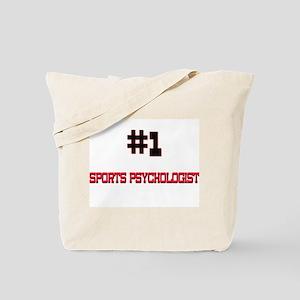 Number 1 SPORTS PSYCHOLOGIST Tote Bag