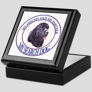black newf sardog Keepsake Box