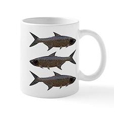 Abstract Line Tarpon Mugs