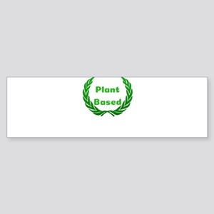 Plant Based Green Laurel Bumper Sticker