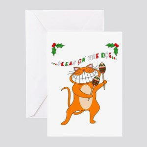 Fleas on the dog... Greeting Cards (Pk of 20)