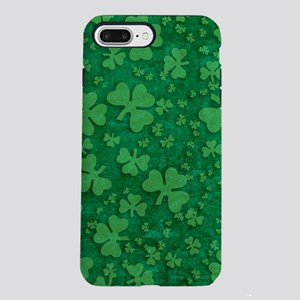 Shamrock Pattern iPhone 7 Plus Tough Case