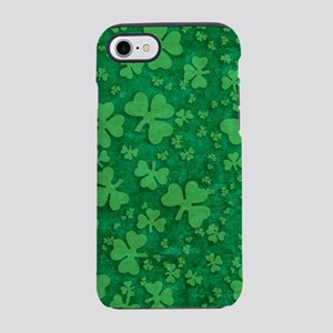 Shamrock Pattern iPhone 7 Tough Case