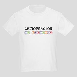 Chiropractor In Training Kids Light T-Shirt