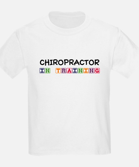 Chiropractor In Training T-Shirt