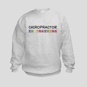 Chiropractor In Training Kids Sweatshirt