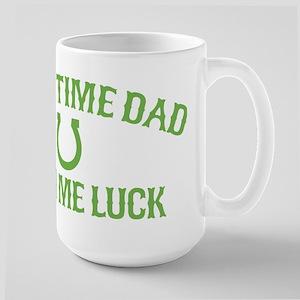 First Time Dad Large Mug
