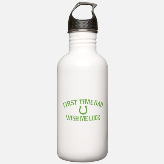 First Time Dad Water Bottle