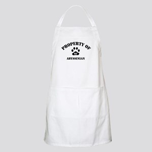 Property of My Abyssinian  BBQ Apron