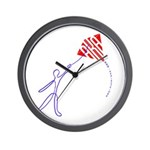 String man Wall Clock
