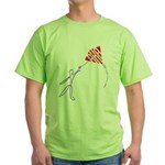 String man Green T-Shirt
