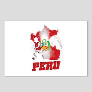 Football Worldcup Peru Pe Postcards (Package of 8)