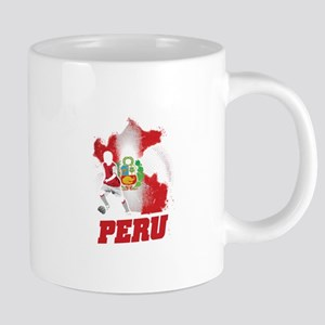Football Worldcup Peru Peruvians Soccer Team Mugs
