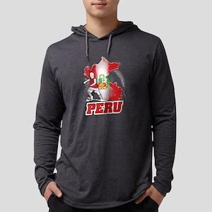 Football Worldcup Peru Peruvia Long Sleeve T-Shirt