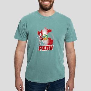 Football Worldcup Peru Peruvians Soccer Te T-Shirt