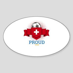 Football Swiss Switzerland Soccer Team Spo Sticker