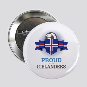 """Football Icelanders Iceland Soccer Te 2.25"""" Button"""