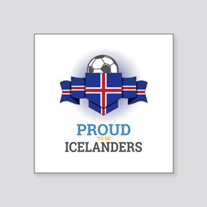 Football Icelanders Iceland Soccer Team Sp Sticker