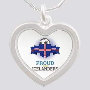 Football Icelanders Iceland Soccer Team Necklaces