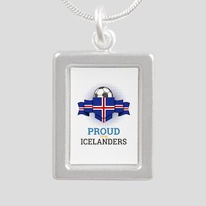 Football Icelanders Iceland Soccer Team Necklaces