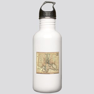 Vintage Map of Baltimo Stainless Water Bottle 1.0L