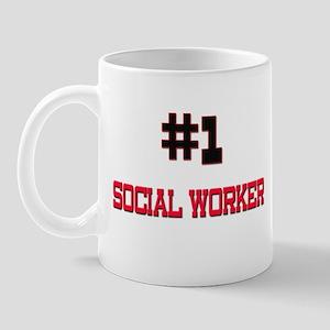 Number 1 SOCIAL WORKER Mug