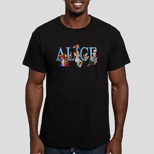 ALICE & FRIENDS Men's Fitted T-Shirt (dark)