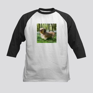 Wire Hair in Forest Kids Baseball Jersey